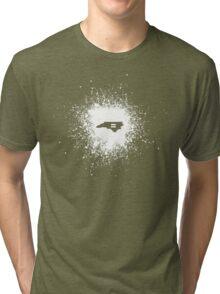 North Carolina Equality White Tri-blend T-Shirt