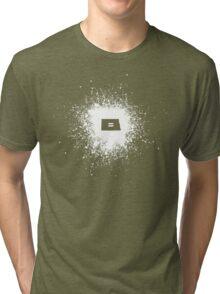 North Dakota Equality WHite Tri-blend T-Shirt