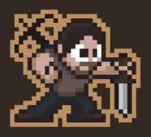 8-Bit Daryl by justinglen75