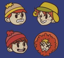 South Park Boys Chibi Heads by 2ll2l