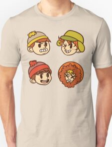 South Park Boys Chibi Heads Unisex T-Shirt