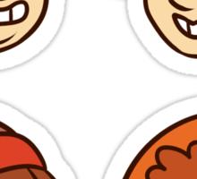 South Park Boys Chibi Heads Sticker