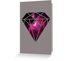 Galaxy Diamond Greeting Card