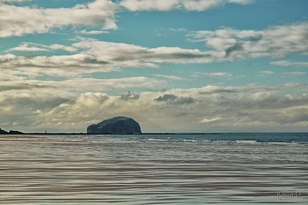 The Bass Rock by Kasia-D
