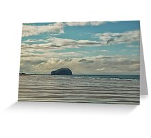 The Bass Rock Greeting Card
