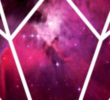 Galaxy Diamond Sticker