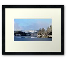 Wintry morning at Loch Ard Framed Print