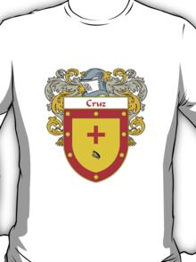 Cruz Coat of Arms/Family Crest T-Shirt