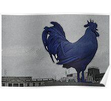 Gallo azul................Londres Poster