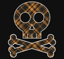 X Marks The Scot Black and Gold by AngryMongo