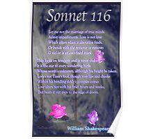 Shakespeare Sonnet 116 Poster