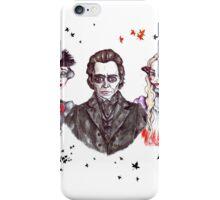 Thomas, Lucille & Edith in Crimson iPhone Case/Skin