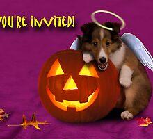 You're Invited Angel Shetland Sheepdog by jkartlife