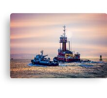 Redhook Harbor  Canvas Print