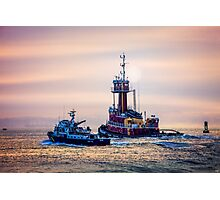 Redhook Harbor  Photographic Print