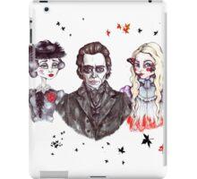 Thomas, Lucille & Edith in Crimson iPad Case/Skin