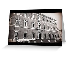 historic building Greeting Card
