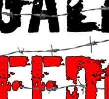 Legalize Freedom 3 Sticker