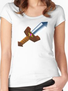 Kokiri Sword Women's Fitted Scoop T-Shirt