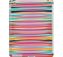 Colorful abstract lines pattern  iPad Case/Skin
