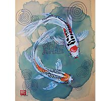 Koi and Thread Photographic Print