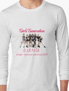 Girls' Generation Gee Logo Long Sleeve T-Shirt