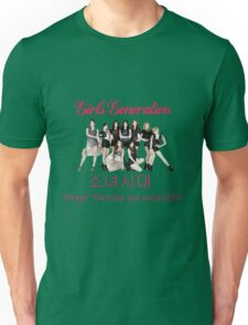 Girls' Generation Gee Logo Unisex T-Shirt