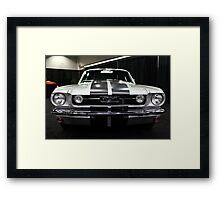 Ford Mustang Fastback - 5D20380 Framed Print