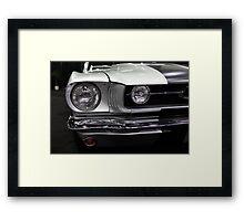 Ford Mustang Fastback - 5D20381 Framed Print