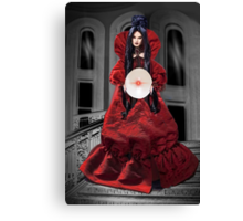 ☝ ☞ FORTUNE TELLER-•♪♫• U HAVE SEEN IT ALL IN YOUR CYRSTAL BALL•♪♫•☝ ☞ Canvas Print