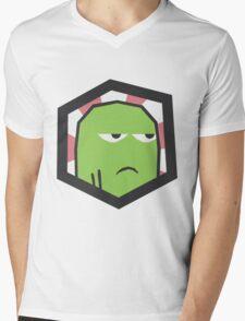 Shmellyorc Emblem Mens V-Neck T-Shirt