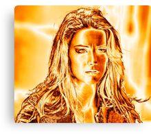 Amber 1 Canvas Print