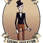 Stuart, The Dapper living skeleton SIDESHOW POSTER by Bantambb