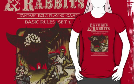 Caverns & Rabbits by Creative Outpouring