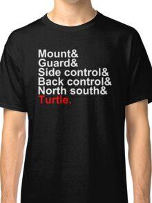Brazilian Jiu Jitsu Positions Classic T-Shirt