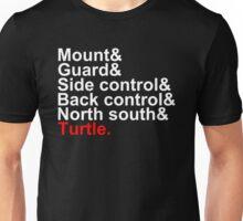 Brazilian Jiu Jitsu Positions Unisex T-Shirt