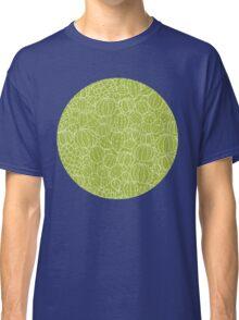 Cactus plants texture pattern Classic T-Shirt