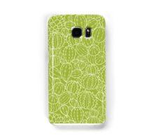 Cactus plants texture pattern Samsung Galaxy Case/Skin