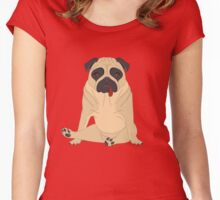 Richard`s boredom Women's Fitted Scoop T-Shirt