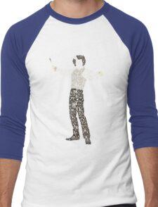 Sweeney Todd - Typography Men's Baseball ¾ T-Shirt