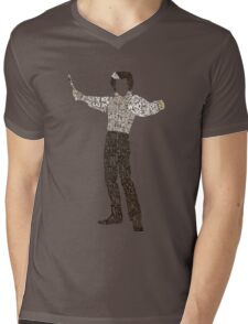 Sweeney Todd - Typography Mens V-Neck T-Shirt