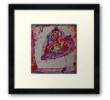love heals Framed Print