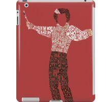 Sweeney Todd - Typography iPad Case/Skin
