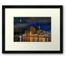 Eternal flame Framed Print