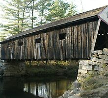 The Lovejoy Covered Bridge by Samantha Robinson