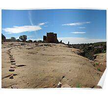 Native American Ruins, Hovenweep National Monument, Utah Poster