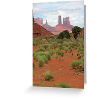 Monument Valley, Arizona Greeting Card
