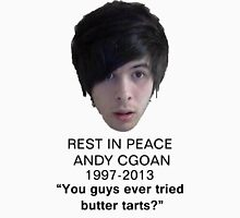 Andy Cogan Rest in Peace T-Shirt