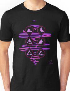 Triangle Melt Unisex T-Shirt
