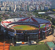 River Plate Stadium, Buenos Aires, Argentina by Carole-Anne